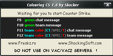 Colouring CS 1.6